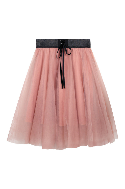 Gonna in Tulle Rosa