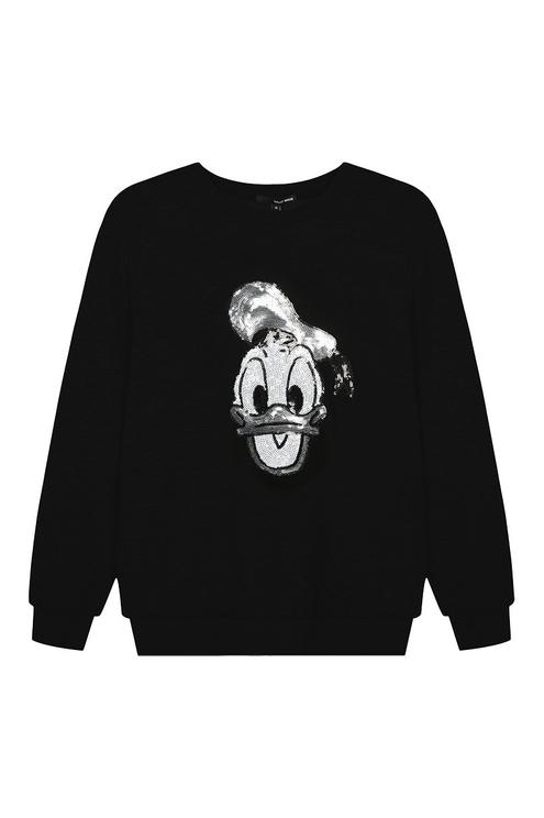 Donald Duck Sequin Sweatshirt