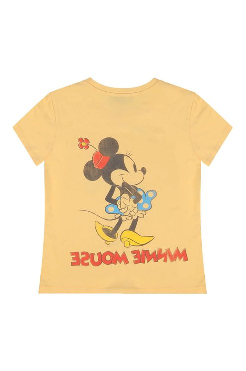T-Shirt Jaune Minnie