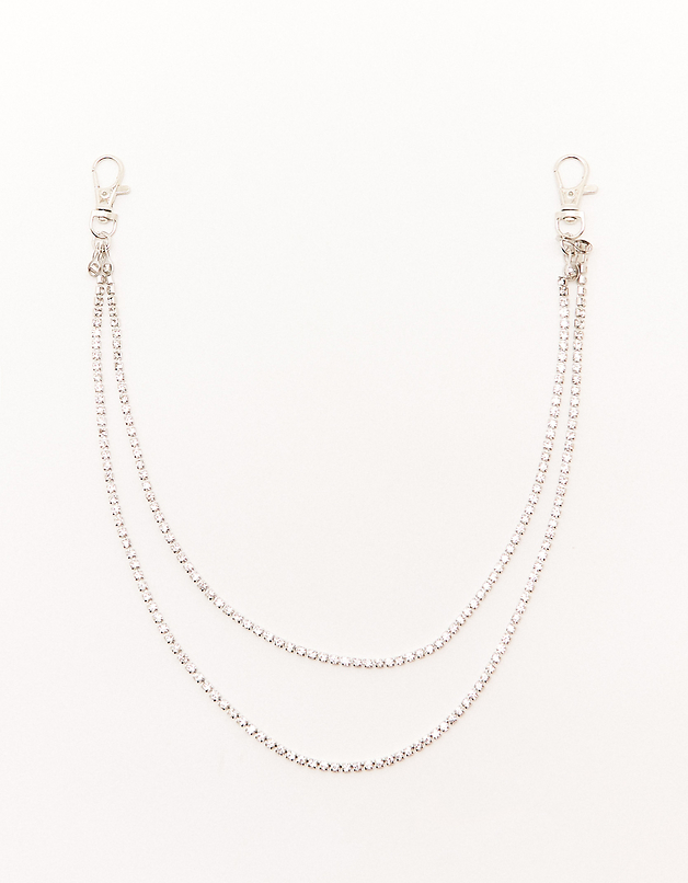 Rhinestone Trouser Chain