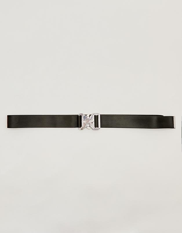 Black Safety Buckle-style Belt
