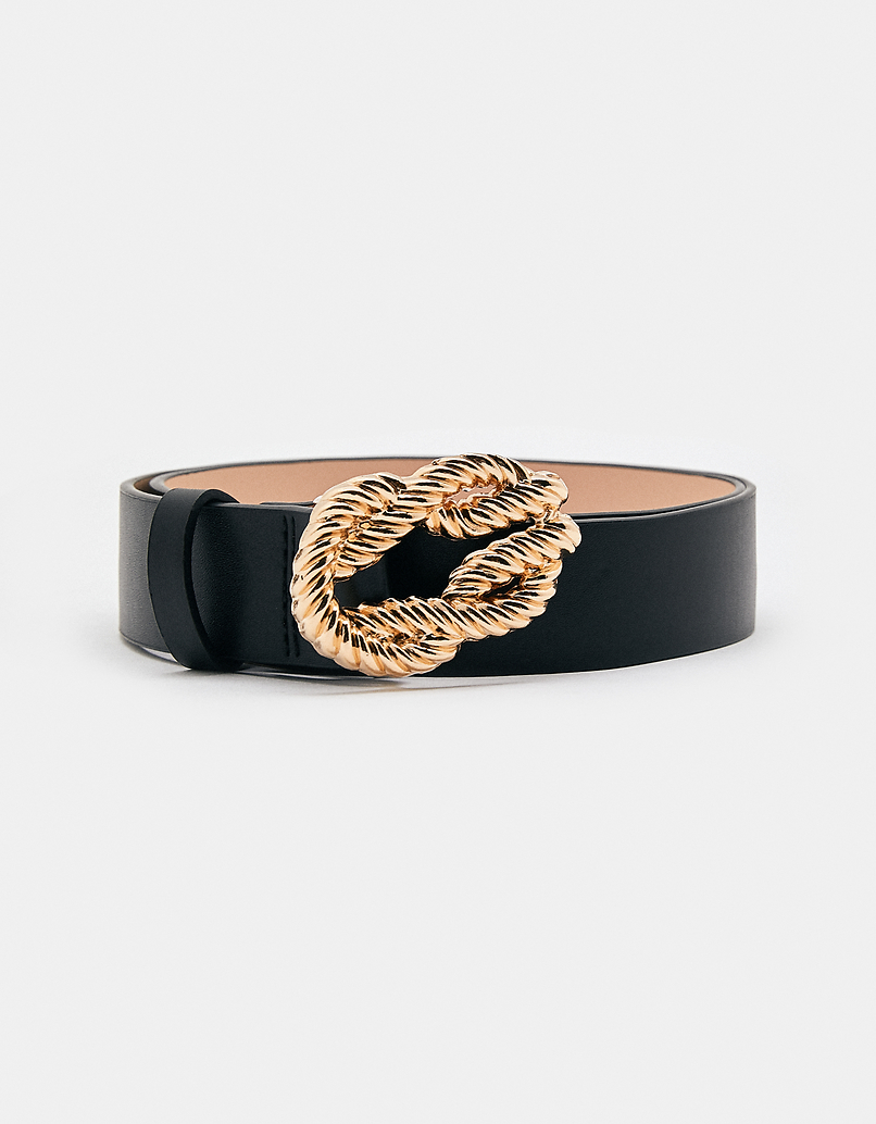 Belt with Knot Buckle