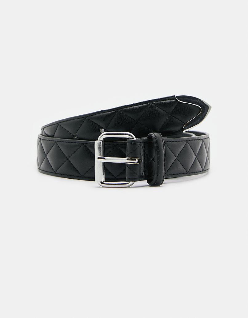 Black Padded Belt