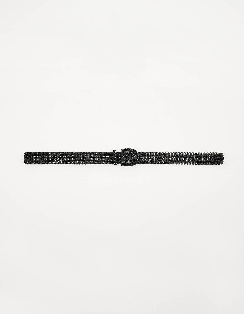 Black Strass Belt