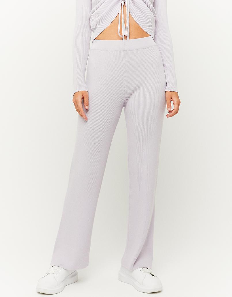Pantalon en Maille Flare