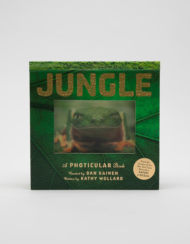 Jungle: A Photicular Book by Kathy Wollard