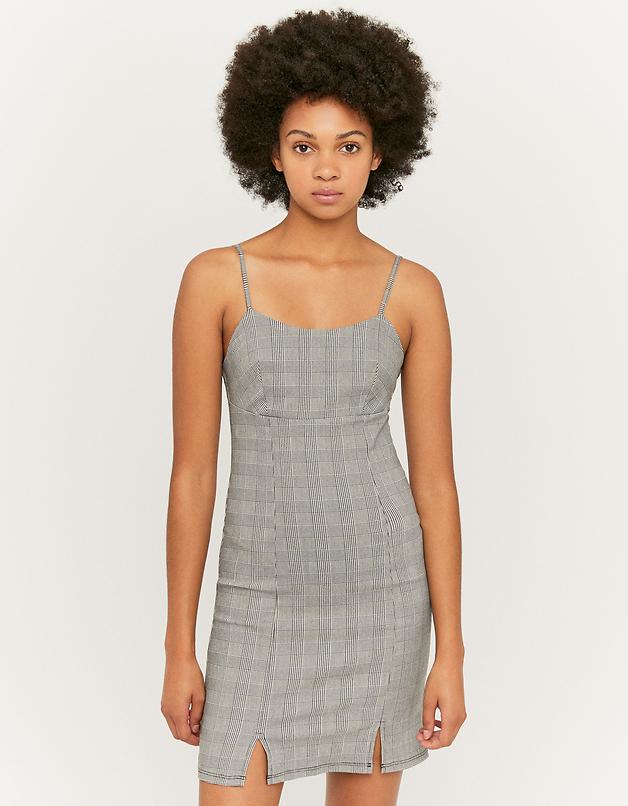 Check Bodycon Dress