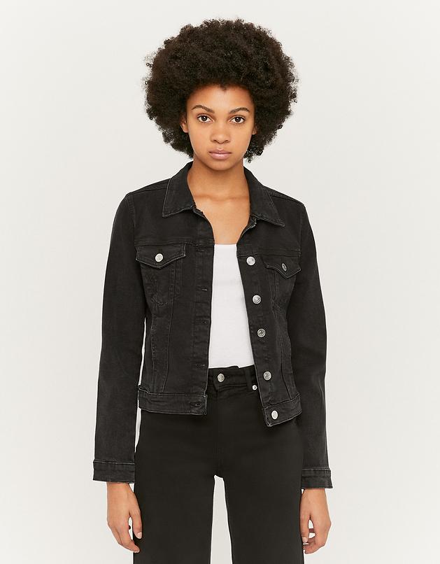 Denim Long Sleeve Slim Jacket