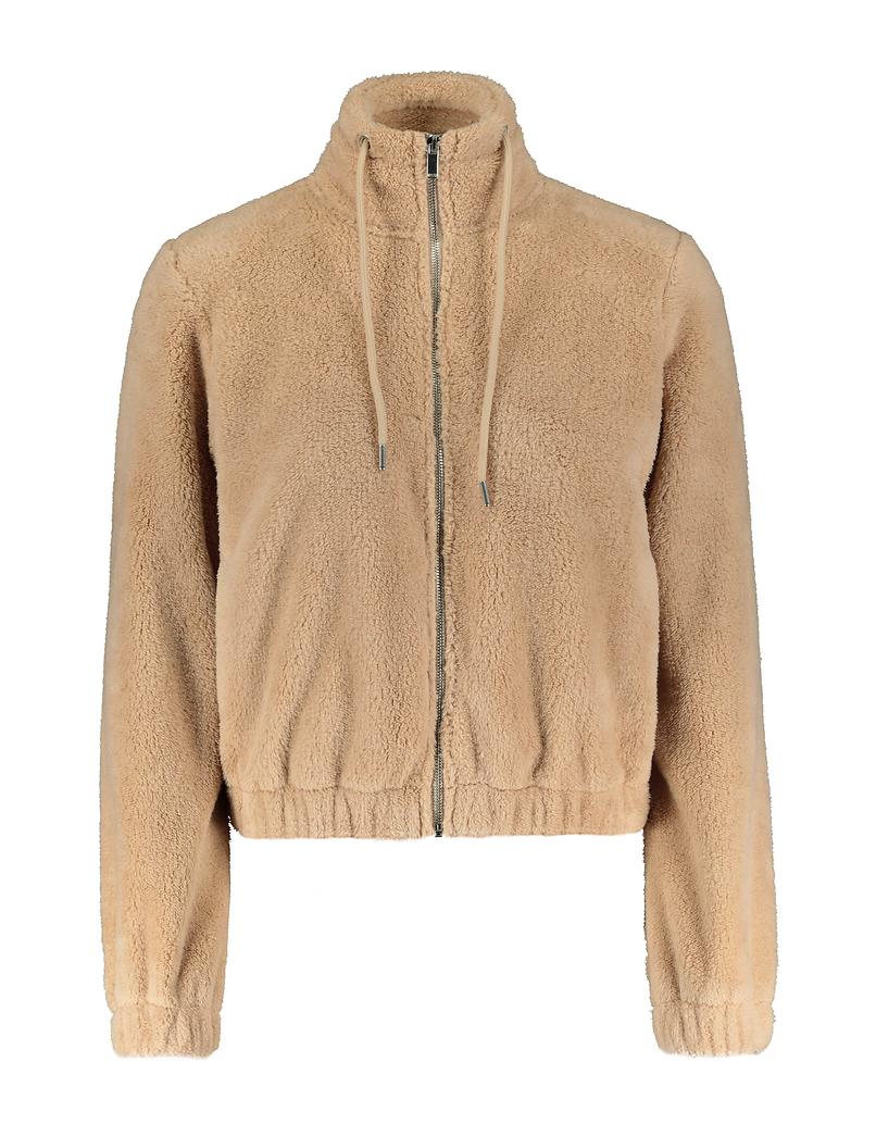 Beige Sherpa Jacket