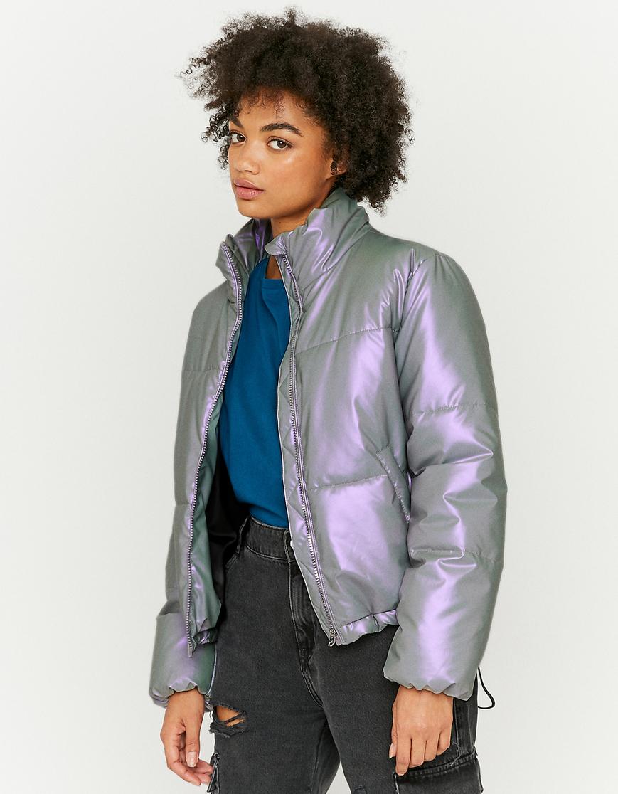 Purple Puffer Jacket