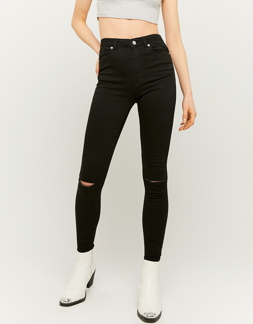 High Waist Skinny Hose