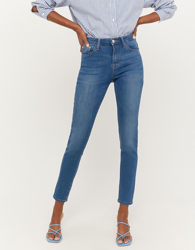 Jeans Skinny a Vita Media
