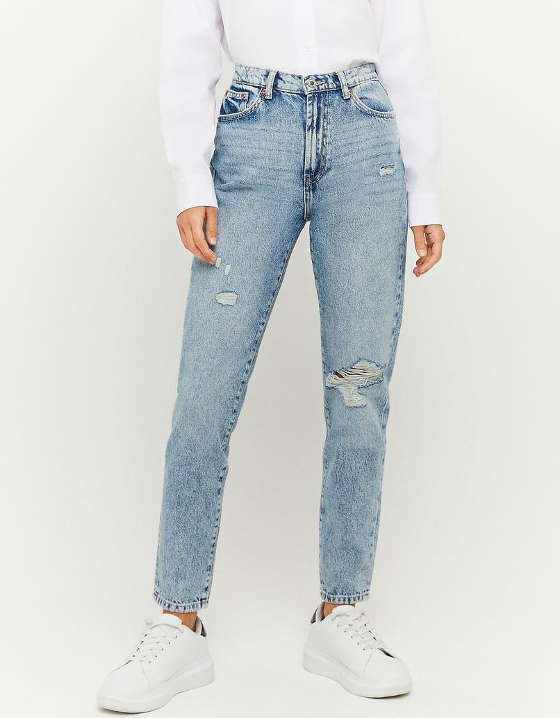 Tapered High Waist Jean