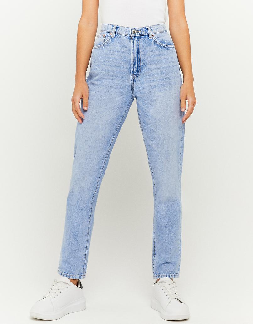Jeans Tapered a Vita Alta