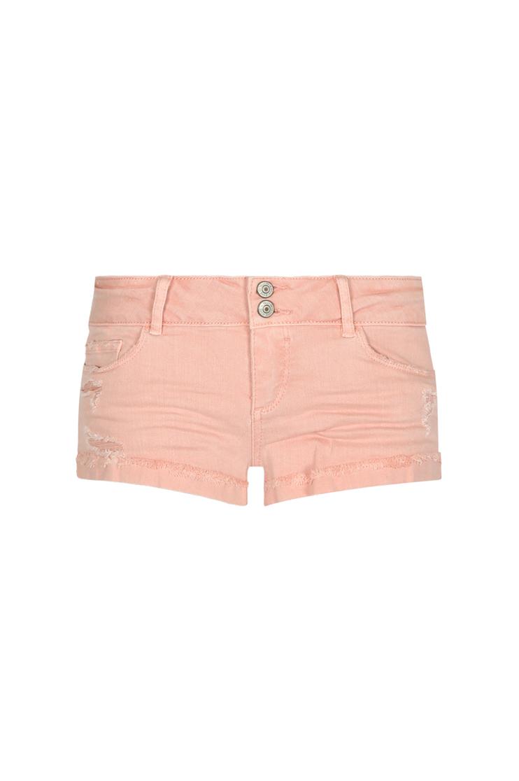 Pantaloncini Rosa Vita Bassa