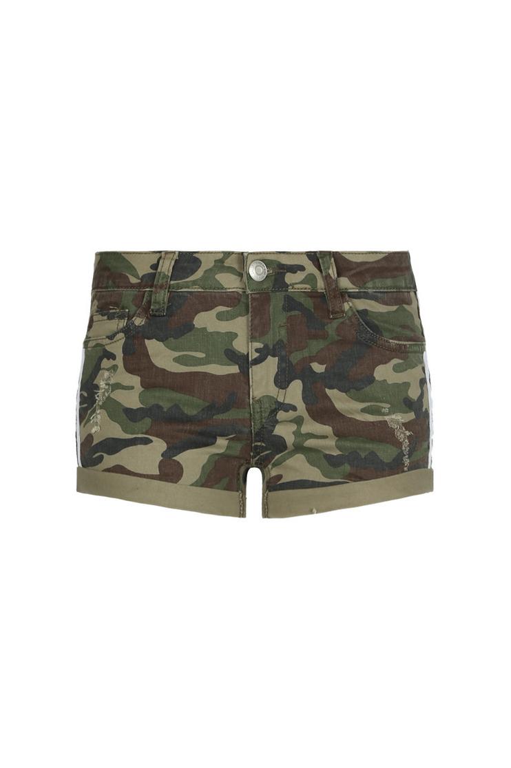 Mini Short Camouflage