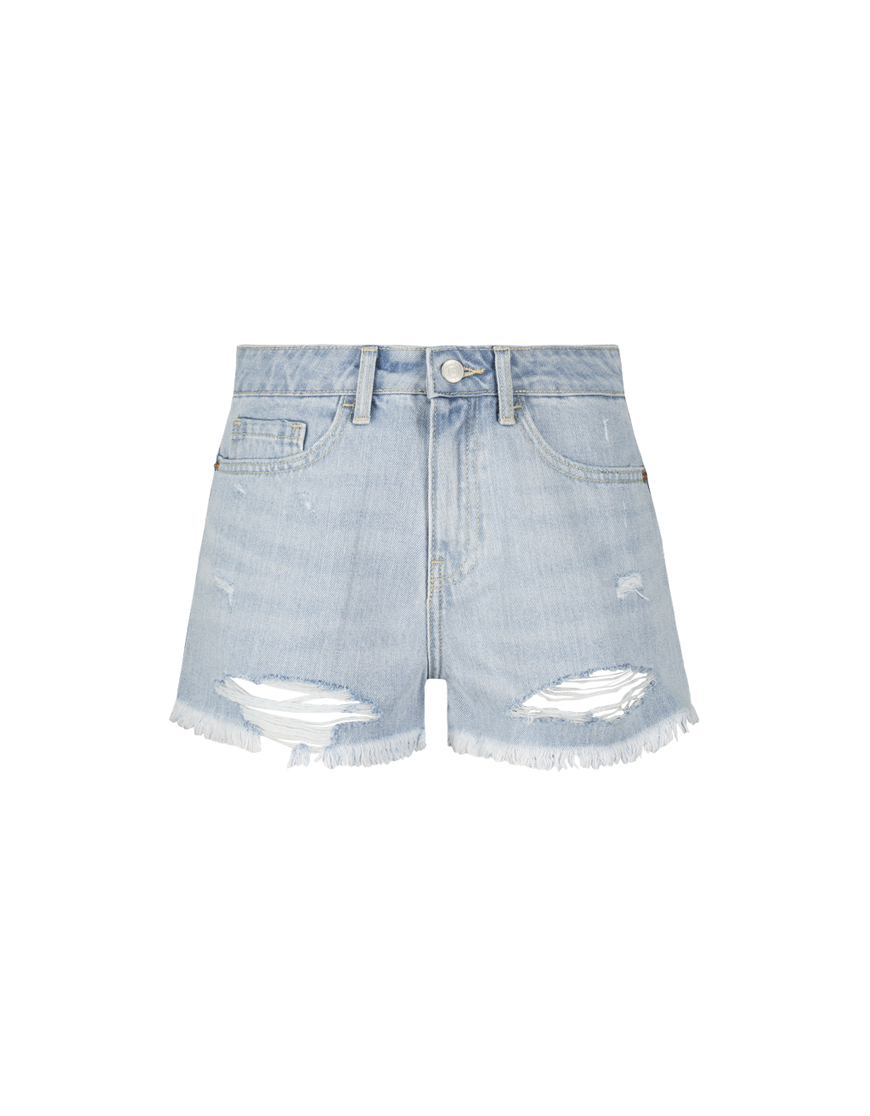 Pantaloncini Denim Destroy