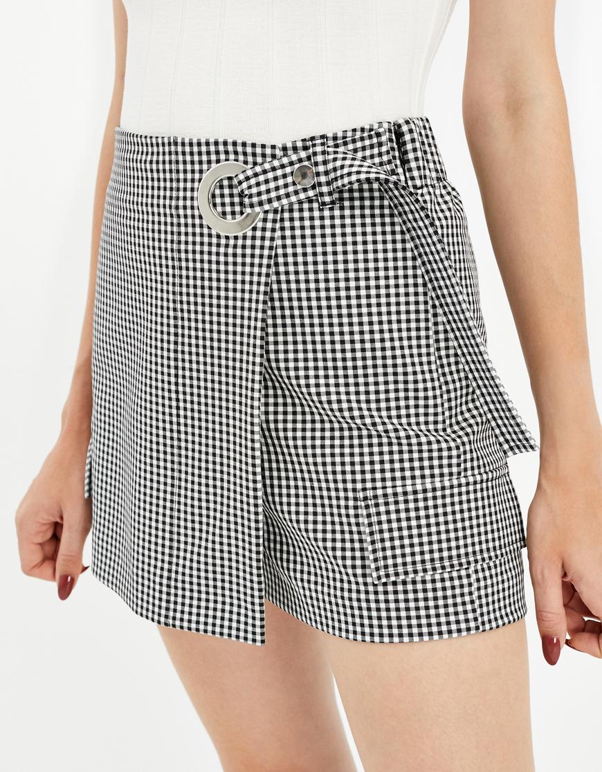 Jupe-Short Vichy
