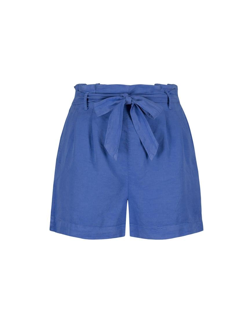 Short Bleu Habillé