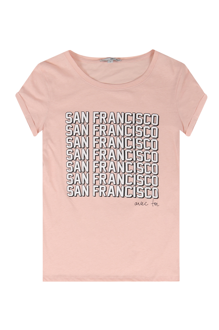 "T-Shirt Rose ""San Francisco"""