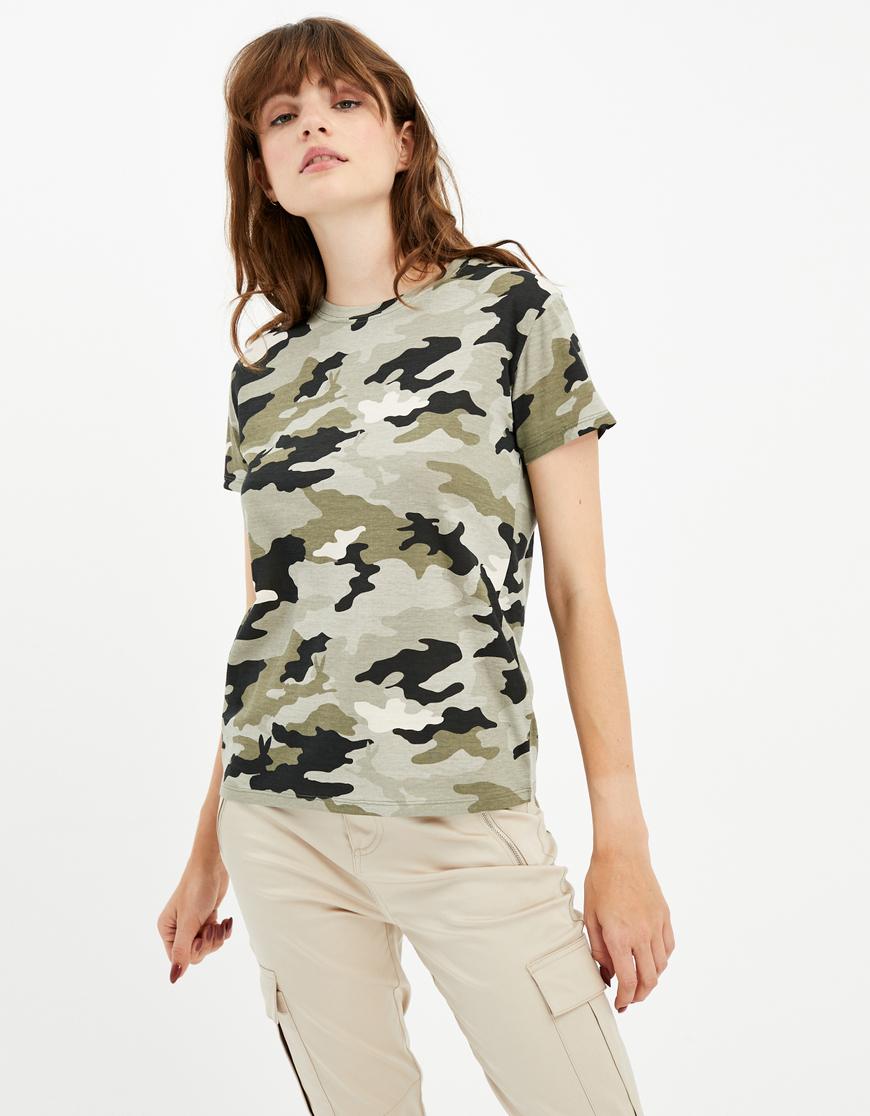 T-Shirt mit Katzen-Aufdruck
