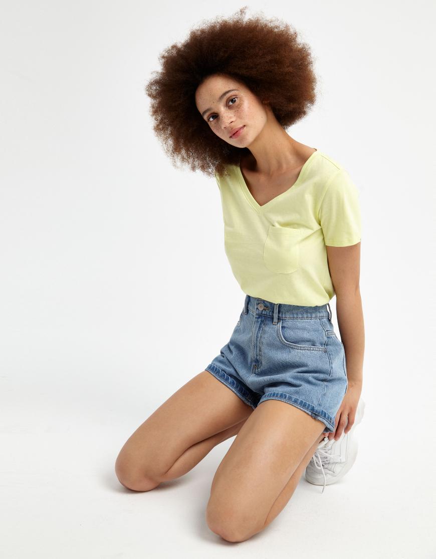 T-shirt Basica Gialla