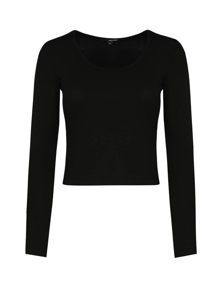 Maglietta Basica Nera