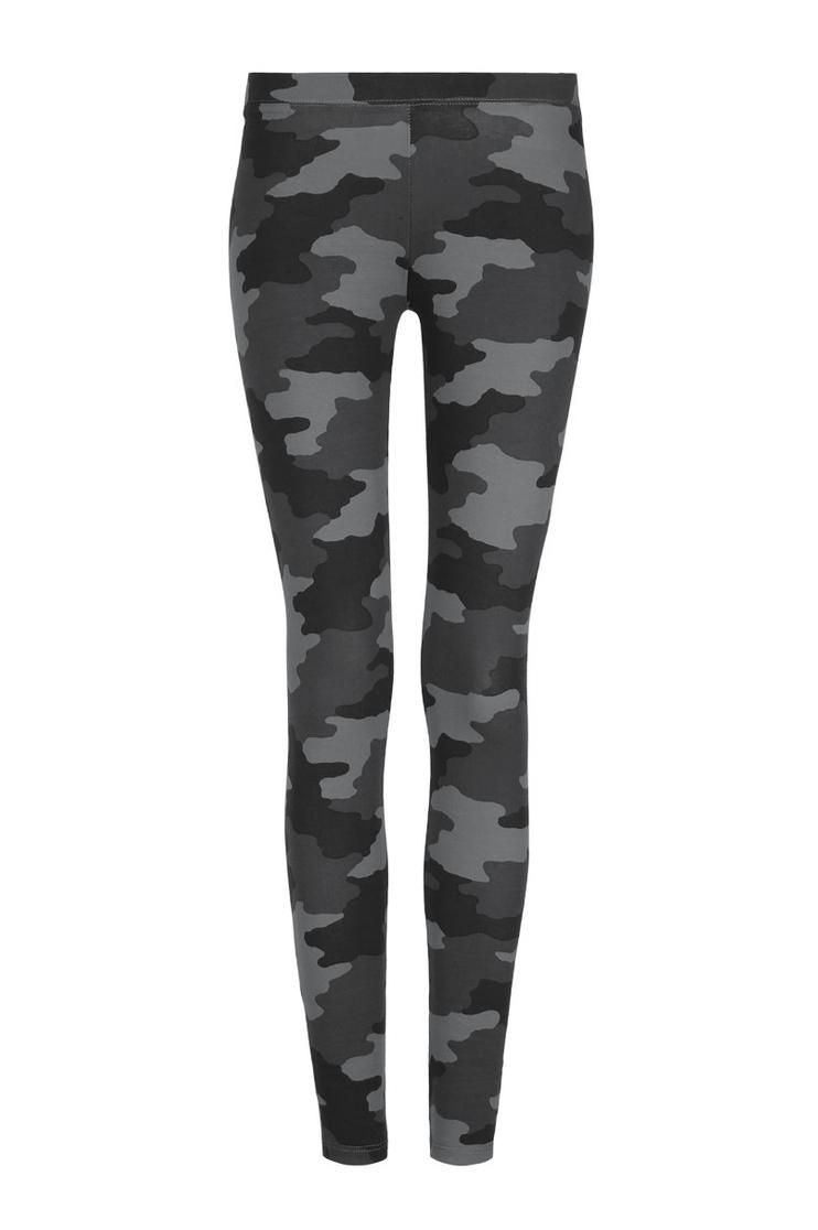 Legging Gris Camouflage