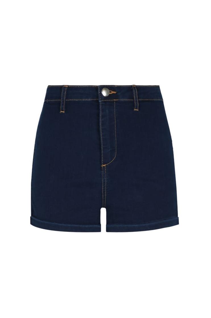 High Waist Denim Shorts