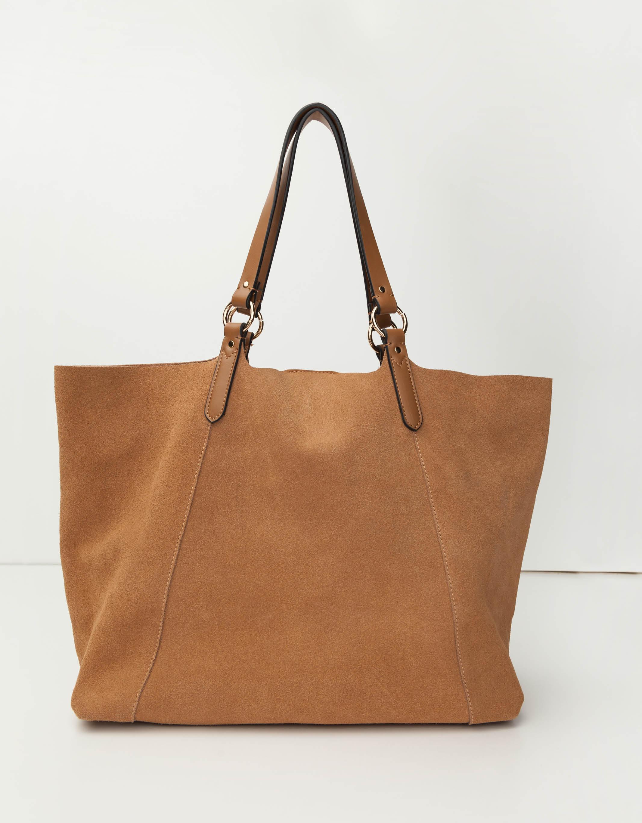 f230ab7e5610 Beige Leather Shopper Bag | TALLY WEiJL Online Shop