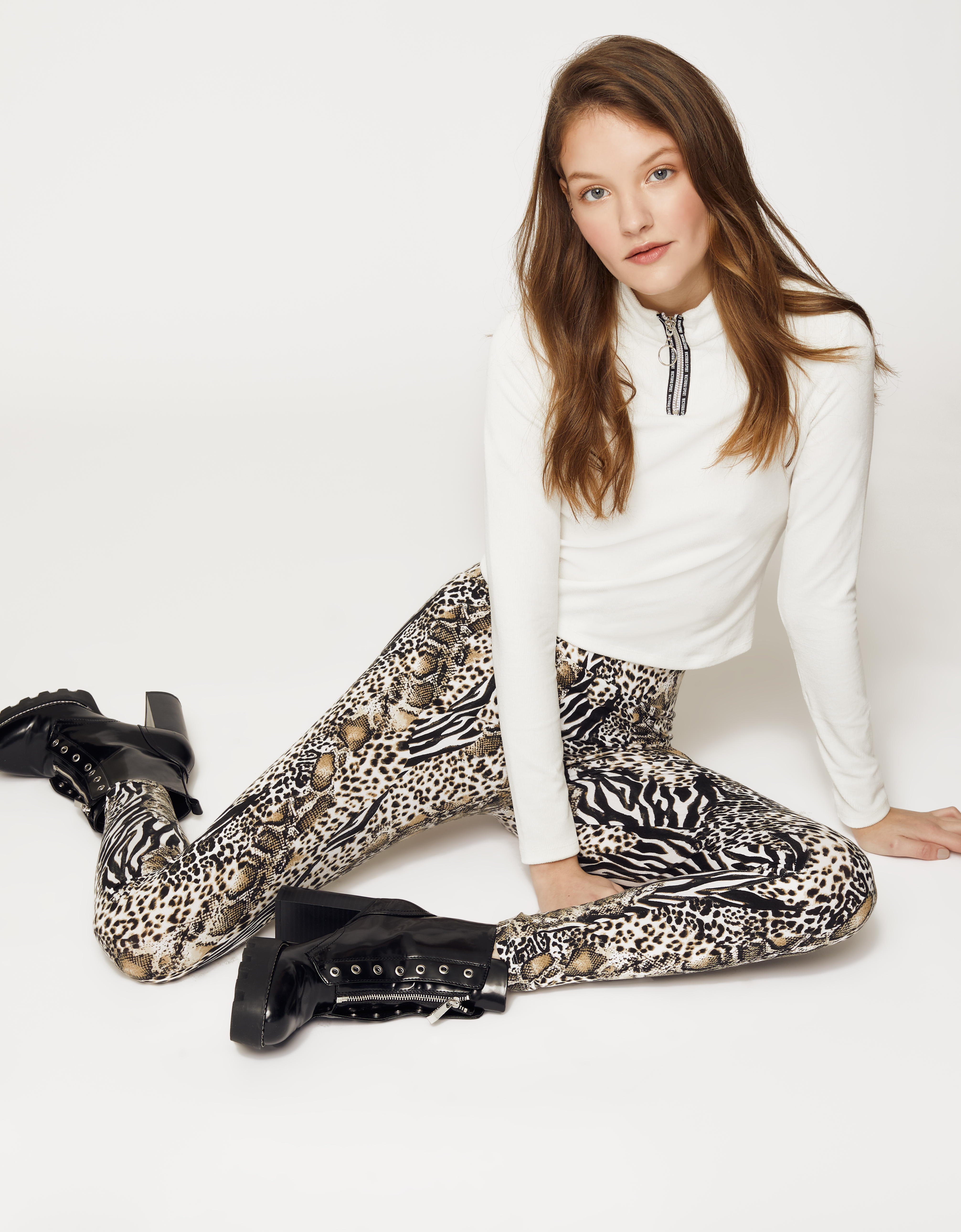 87aac72b91c78 Animal Print Leggings | TALLY WEiJL Online Shop