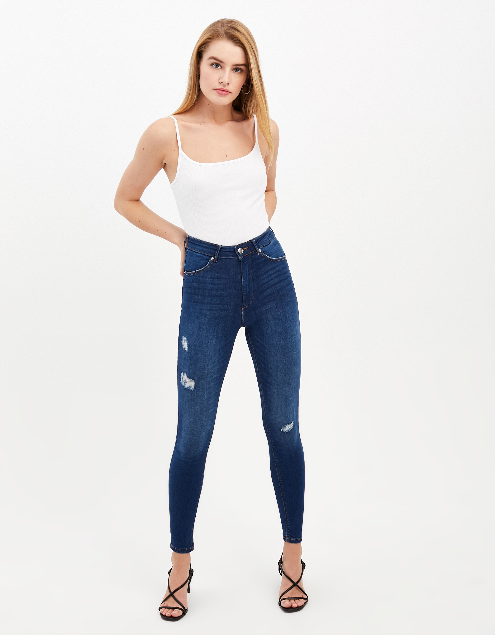 1008abeb58 High Waist Push Up Jeans   TALLY WEiJL Online Shop