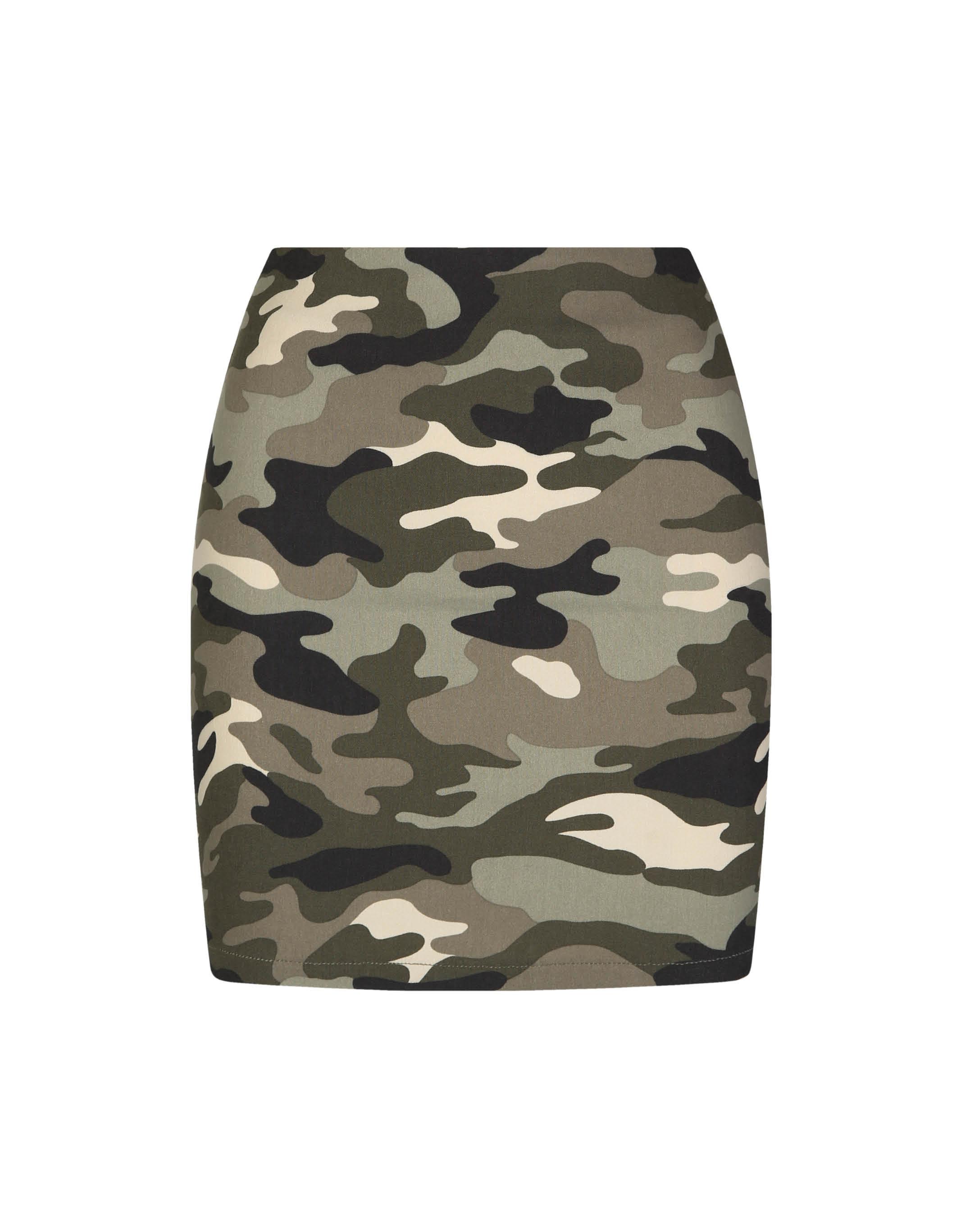 e340edc671b7c Camo Skirt | TALLY WEiJL Online Shop