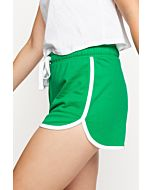 Green Mini Shorts