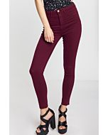 Dark Red Trousers