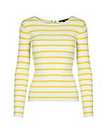 White and Yellow Jumper