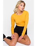Yellow Polka Dot Pullover