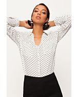 White Polka Dots Shirt