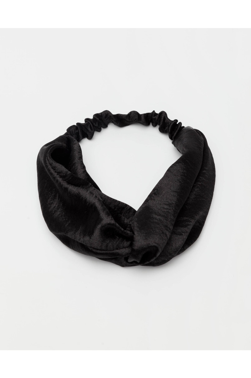 Black Satin Headband  2c005cd5f45