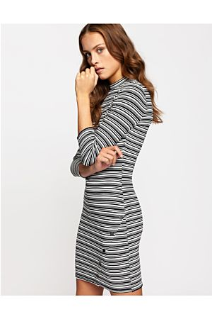 Bodycon Dress in Stripe