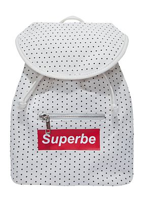 Small Polka Dot Backpack