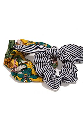 PRINT HAIR WRAP XX OS