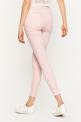 Pink High Waist Trousers