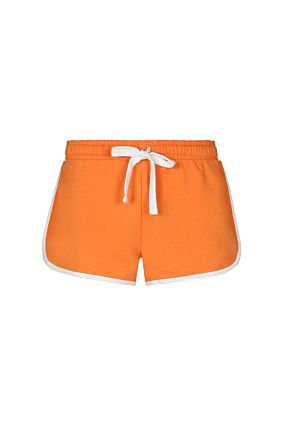 Orange Mini Sports Shorts
