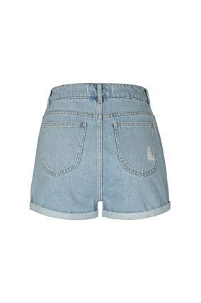 Pantaloncini Denim Mom