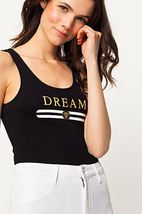 "Black ""Dream"" Bodysuit"