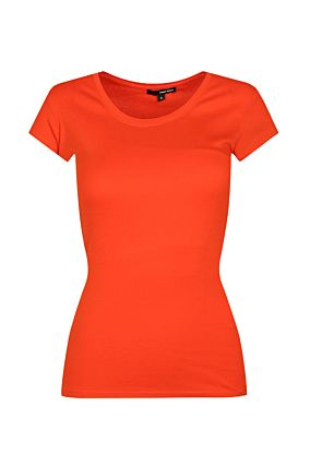 Orange Basic Top