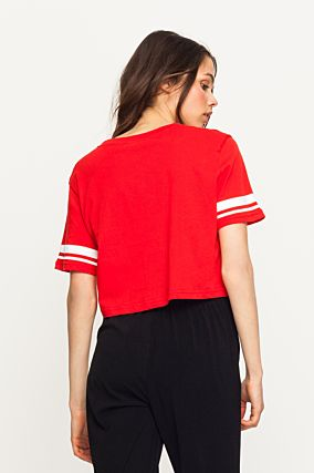 "Red "" Kisses"" Top"