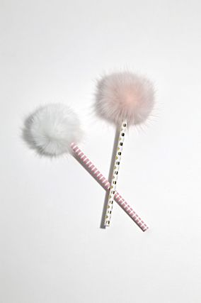Pack of 2 Fluffy Pencils