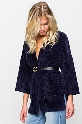 Dark Blue Cardigan